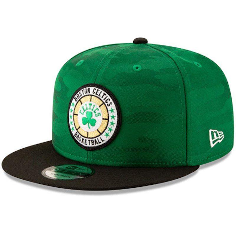 0e7f742e71f Boston Celtics New Era 2018 Tip-Off Series Two-Tone 9FIFTY Adjustable Hat –  Kelly Green Black