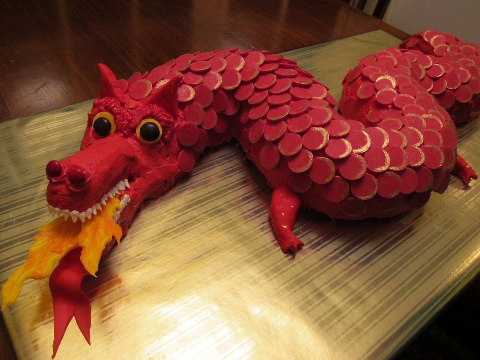 This Is An Awesome Dragon Cake For The New Year Chinese