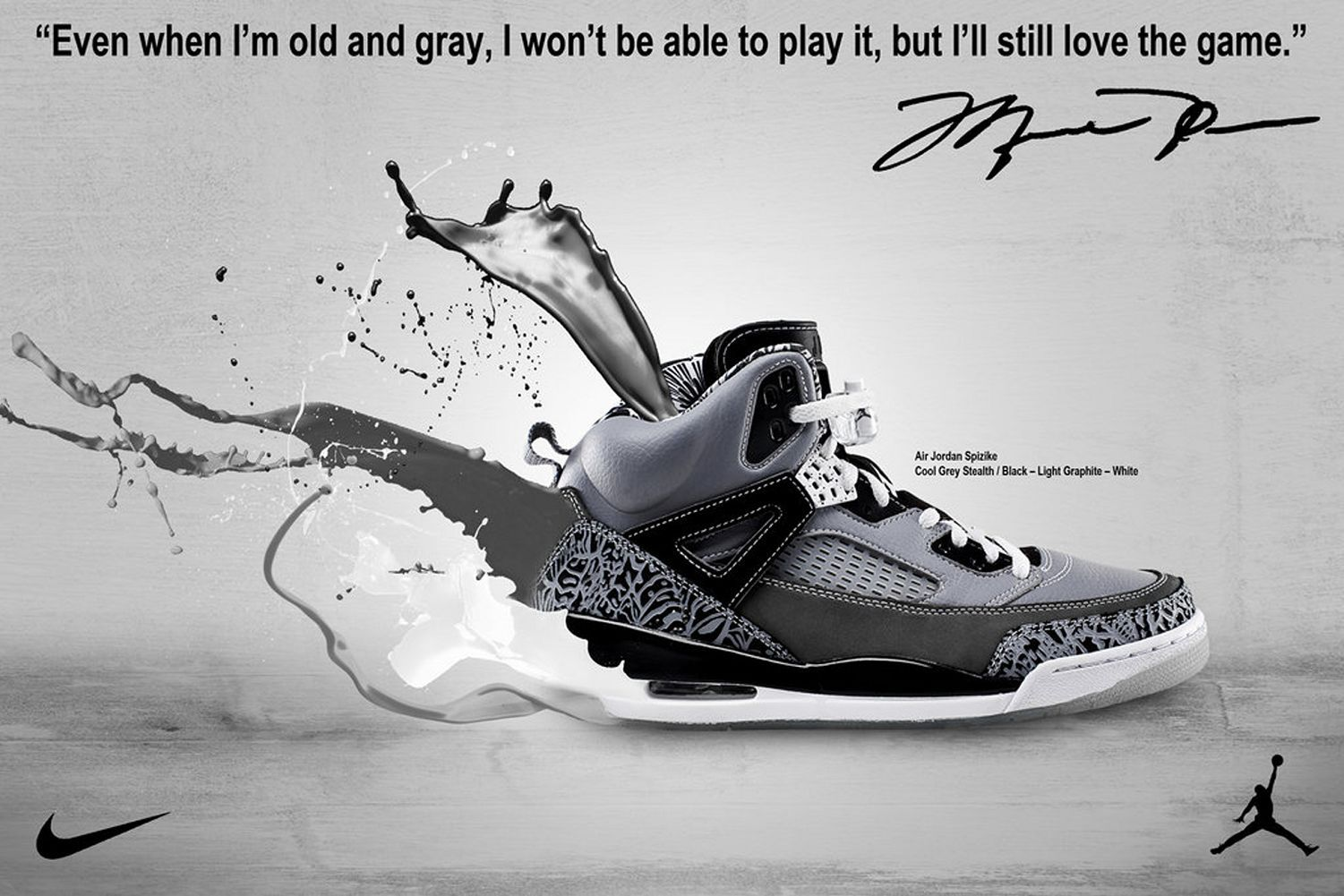 Just a little advertisement poster I created using Adobe Photoshop. Im just  a big collector of jordan brand shoes.
