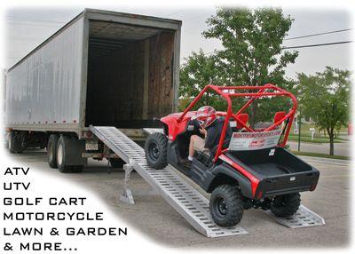 Portable Semi 18 Wheeler Truck Trailer Ramps Amp Loading