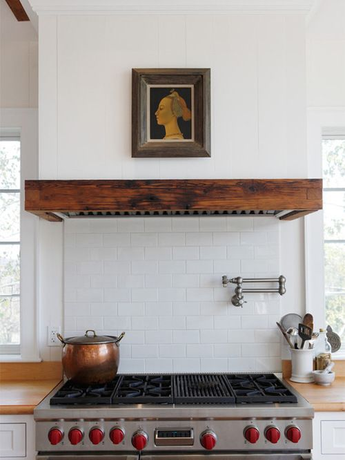 custom kitchen hood designs. Houzz  Wall Mounted Range Hood Design Ideas Remodel Pictures