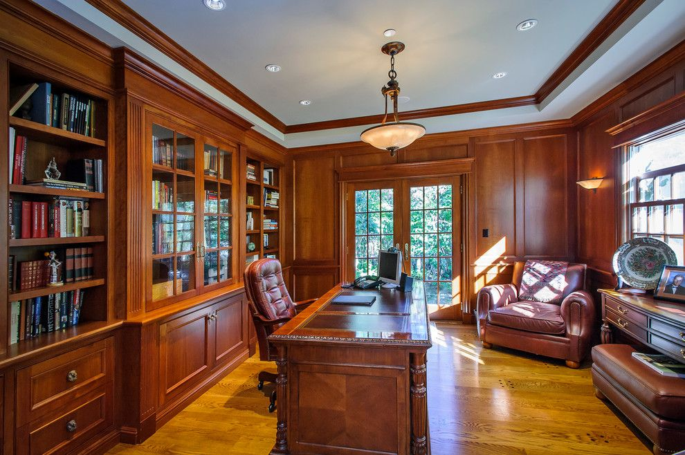 Traditional Home Office Design 3
