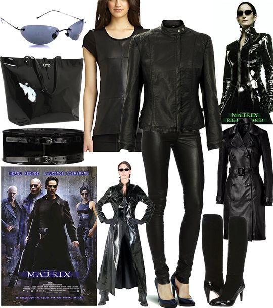 The Matrix Carrie Anne Moss Snag The Look Classic Outfits Fashion Fandom Outfits
