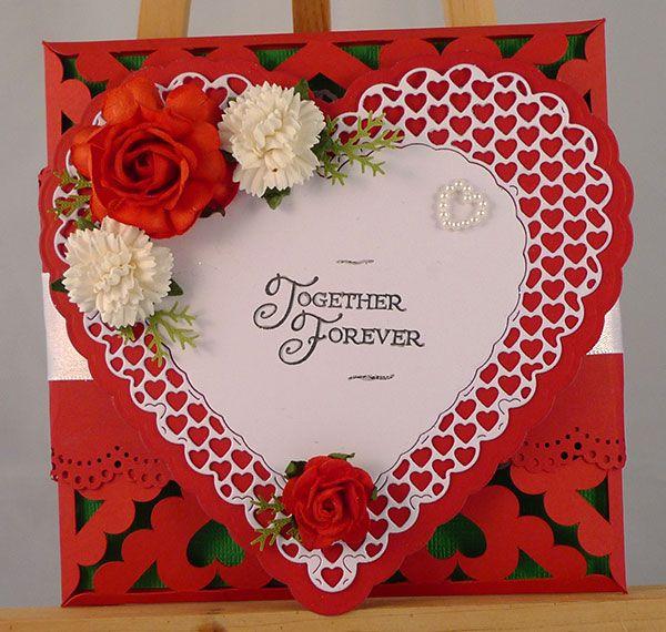 Anniversary Card Wedding Anniversary Cards Pinterest