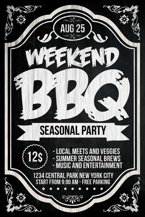 Bbq Flyer  HttpXtremeflyersComBbqFlyer Bbq Flyer Template