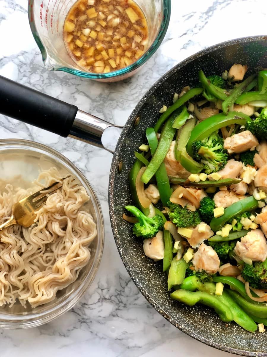 This Quick And Easy Chicken Ramen Noodle Stir Fry Is One Of Our
