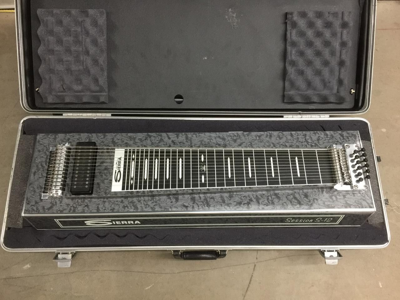 Our newest vintage piece is this Sierra Session S-... Click on the link http://www.vintageguitarsli.com/products/sierra-session-s-12-pedal-steel-guitar?utm_campaign=social_autopilot&utm_source=pin&utm_medium=pin to learn more.