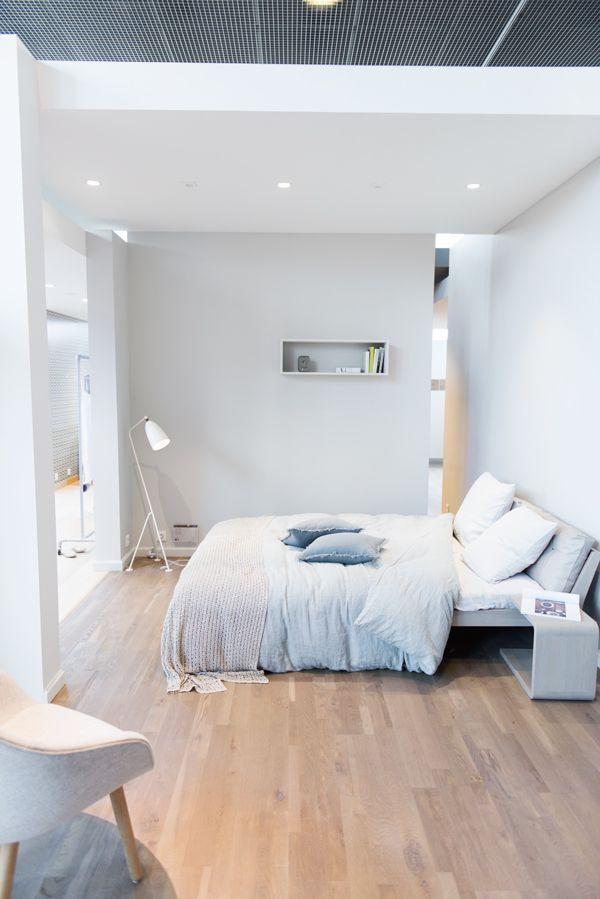 Slaapkamer grijstinten | Slaapkamer inrichting | Pinterest - Parket ...