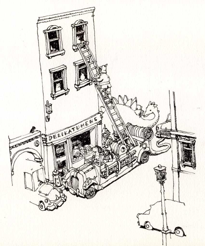 Mattias Inks: Fire brigade, #1