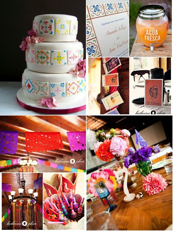 Mexican themed wedding | All things wedding | Pinterest