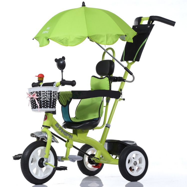High Quality Children Baby Bicycle Portable 3 Wheels Safety Baby Car Umbrella Baby Stroller 1-6 Years Old Baby Tricycle