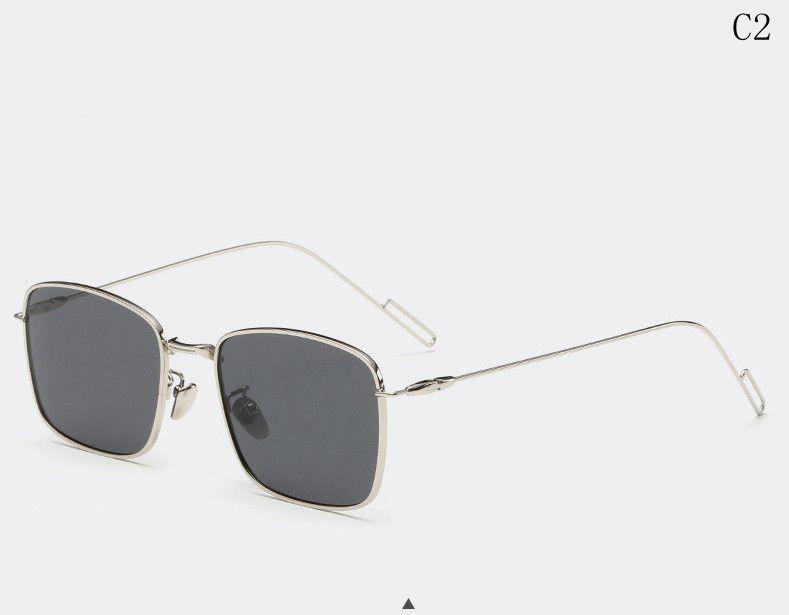 a1583a668fb FankGlasses 2016 Classic Small frame Metal Sunglasses Men Women Brand Designer  Polarized Sun Glasses Fashion Gafas