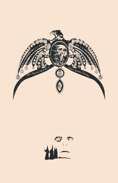 7b87b354386 Horcrux Poster - Rowena Ravenclaw s Diadem