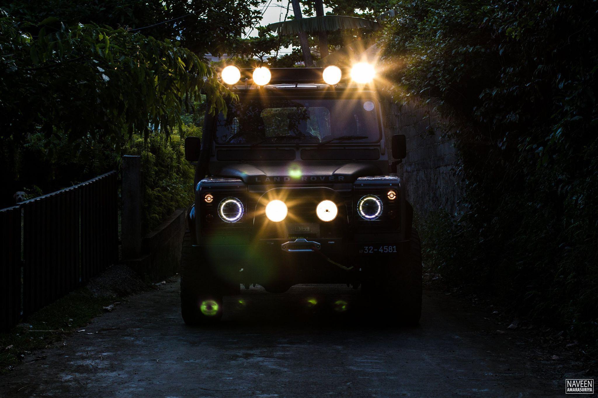 Angel Eyes Land Rover Defender Sri Lanka Land Rover Defender