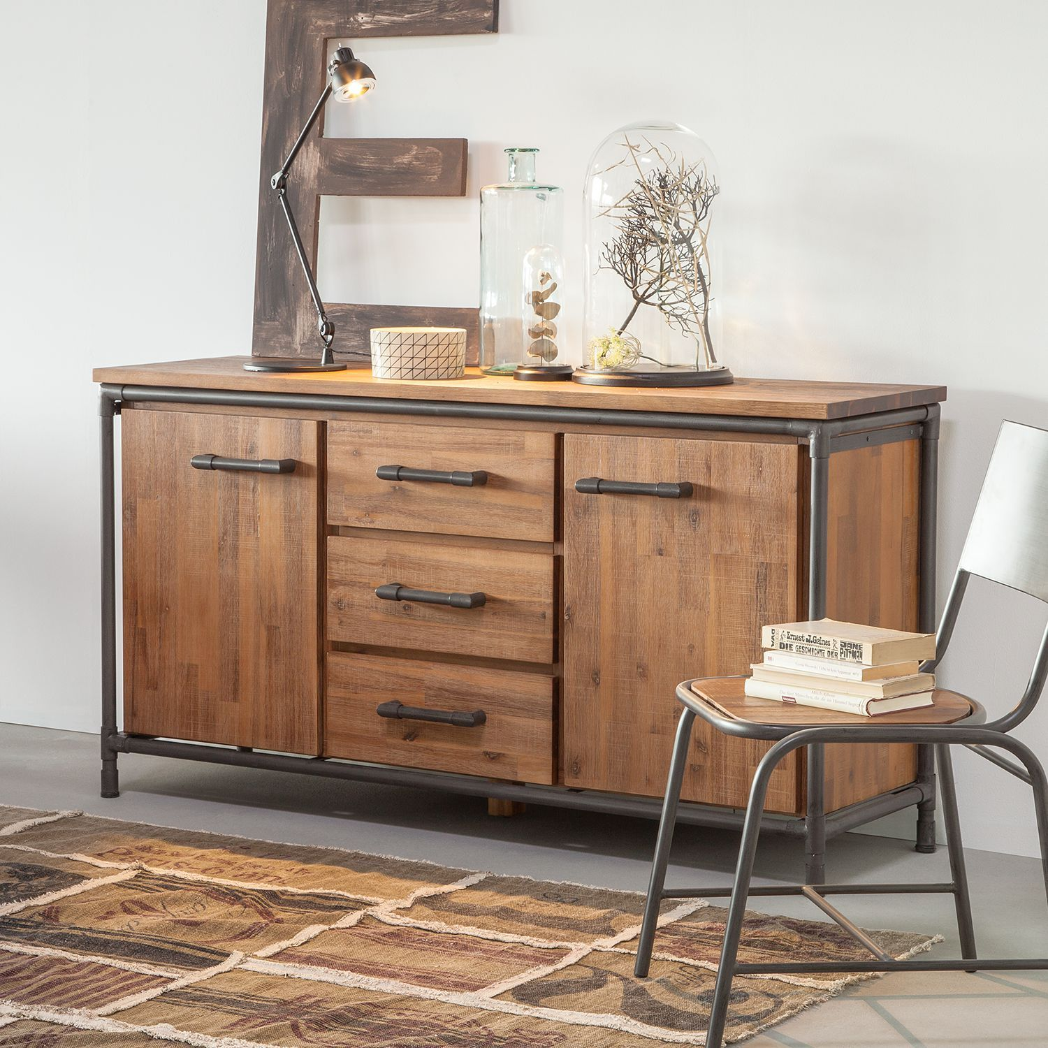Home24 Sideboard Atelier Sideboard Modern Mexico Mobel