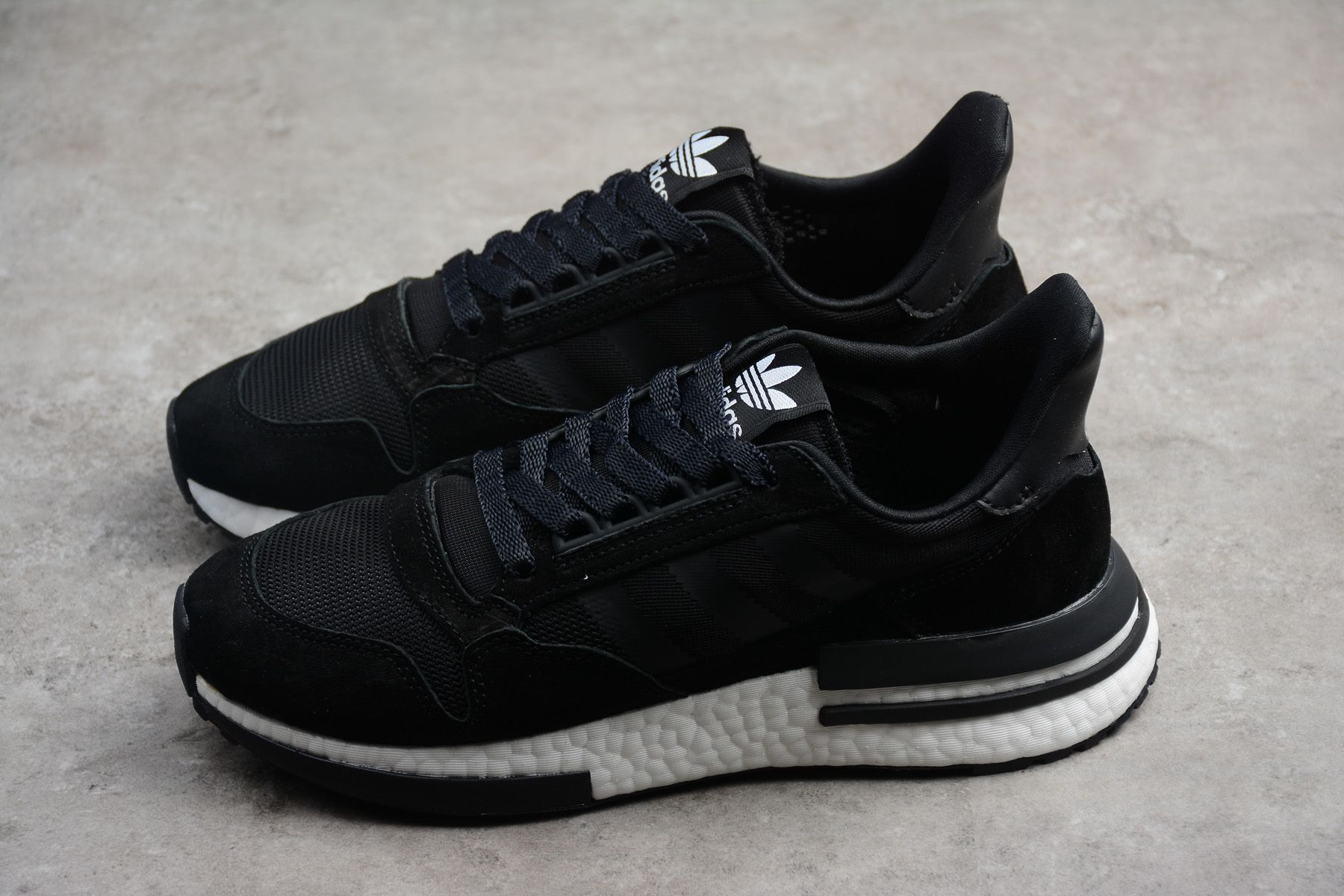 new style 8dc47 de87e adidas ZX500 RM Boost Black White BB7445 Shoes For Cheap ...