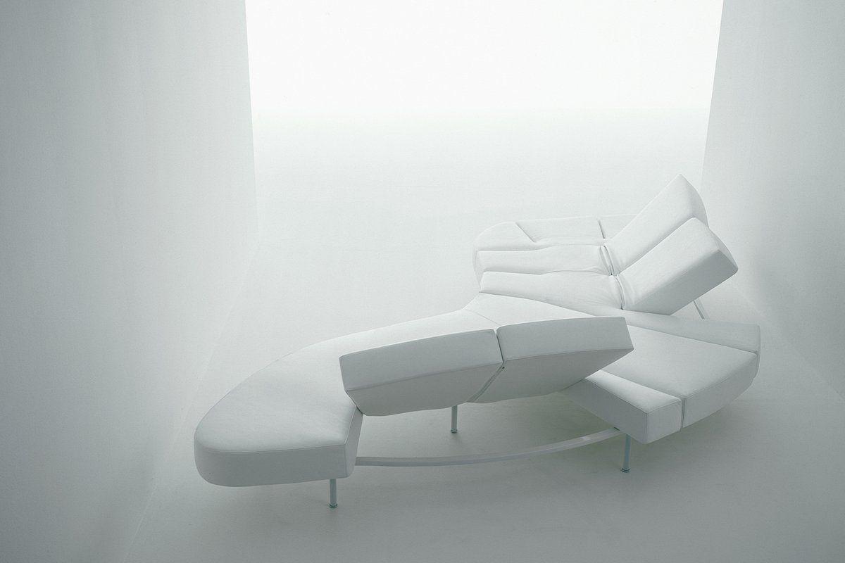 Edra Flap Couch Edra Com White Architectural Design
