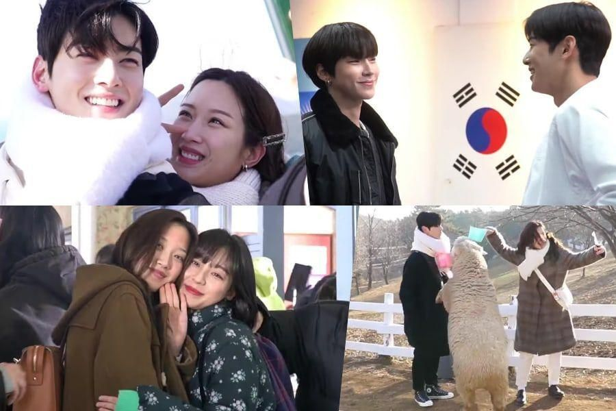 "Watch: ""True Beauty"" Cast Members Show Playful Moments Behind The Scenes"