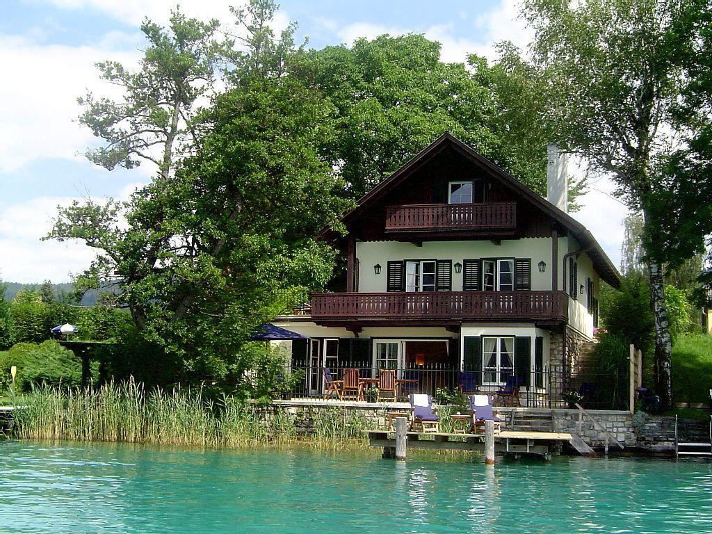Seehaus Mit Idyllischem Garten Pörtschach Am Wörther See
