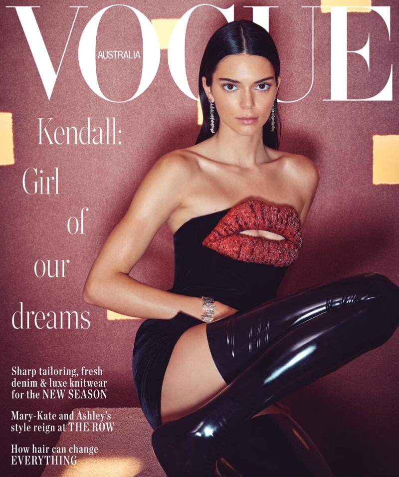 Kendall Jenner Poses in Statement Styles for Vogue Australia – Moda Fotoğrafları / Fashion Photography