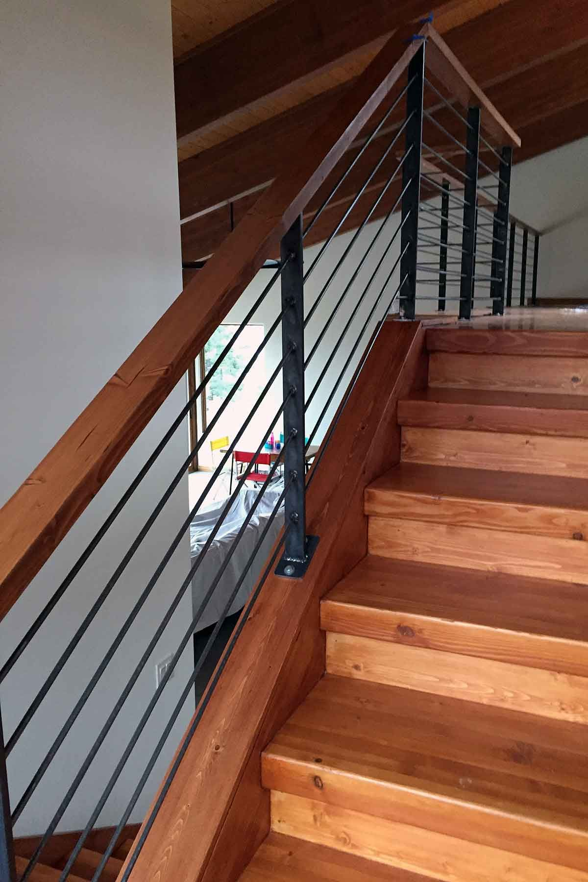 We Have Really Added An Amazing Amount Of Handrail To Our