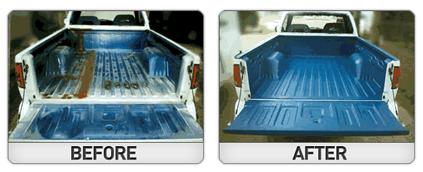 Paint on truck bed liner bronco ii pinterest truck bed liner durabak is the best do it yourself bed liner paint roll on spray colored truck bed liner navy durabak is also excellent for marine solutioingenieria Gallery