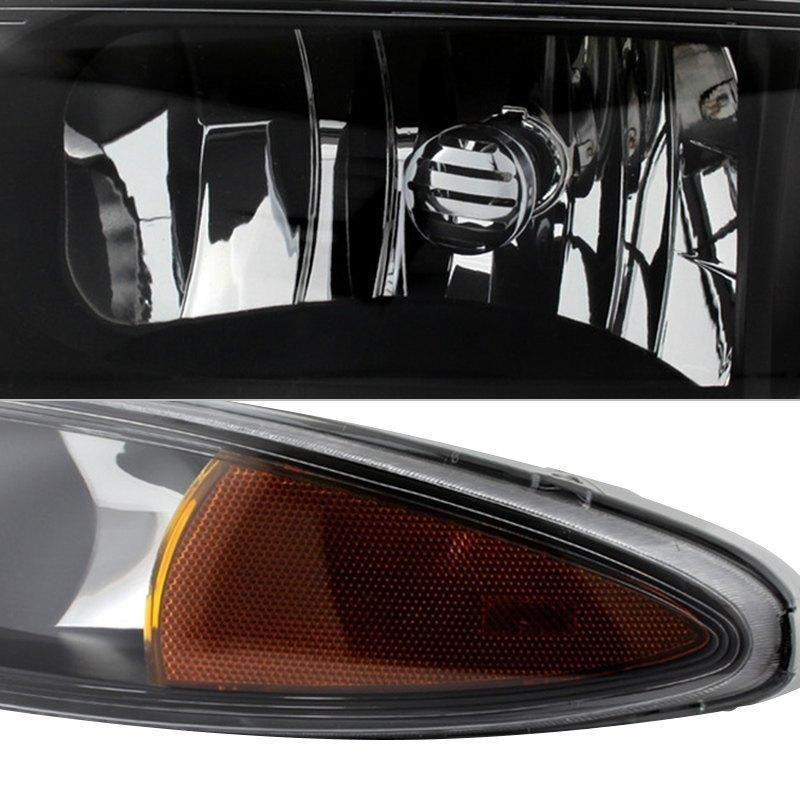 Xtune Crystal Headlights Oldsmobile Alero 1999 2004 Black Default Title Oldsmobile Headlights High Beam