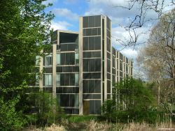Erdman Hall Dormitories By Louis I. Kahn Architect, At Bryn Mawr,  Pennsylvania, 1960 To Architecture In The Great Buildings Online.