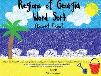 coastal plain region of georgia