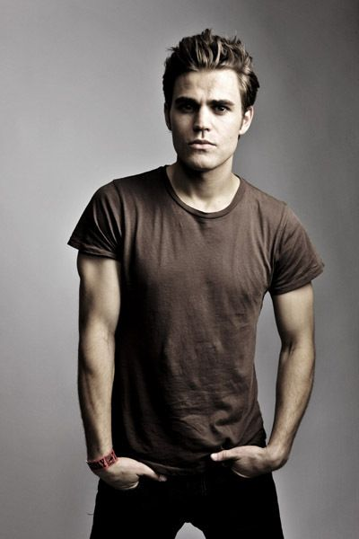Paul Wesley.... You may look like a much older and muscular Justin Beiber, but I love you anyways.