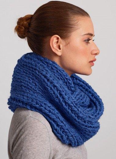 tricoter un snood bergere de france