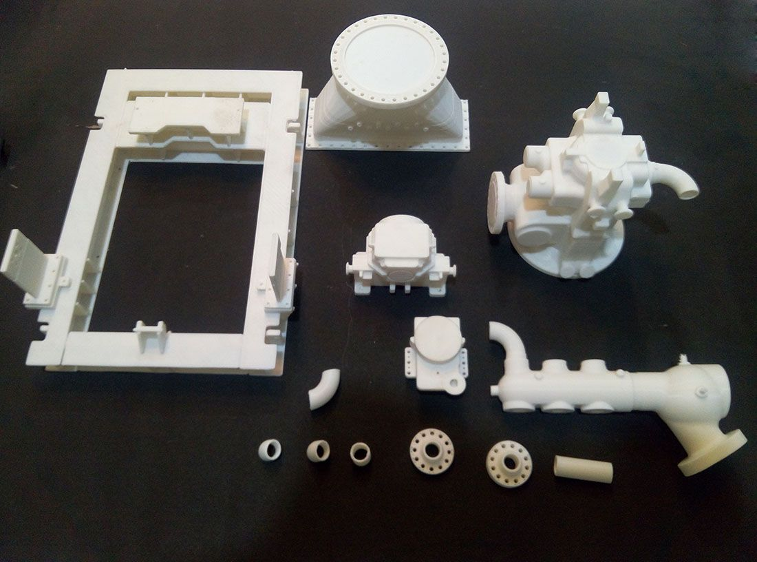 3d Printed Engineering Model Mechanical Assembly 3dprinting