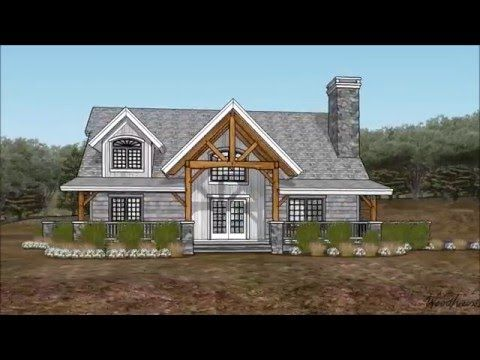 Adirondack Cottage Woodhouse The Timber Frame Company Farmhouse Plans Metal Barn Homes Timber Framing