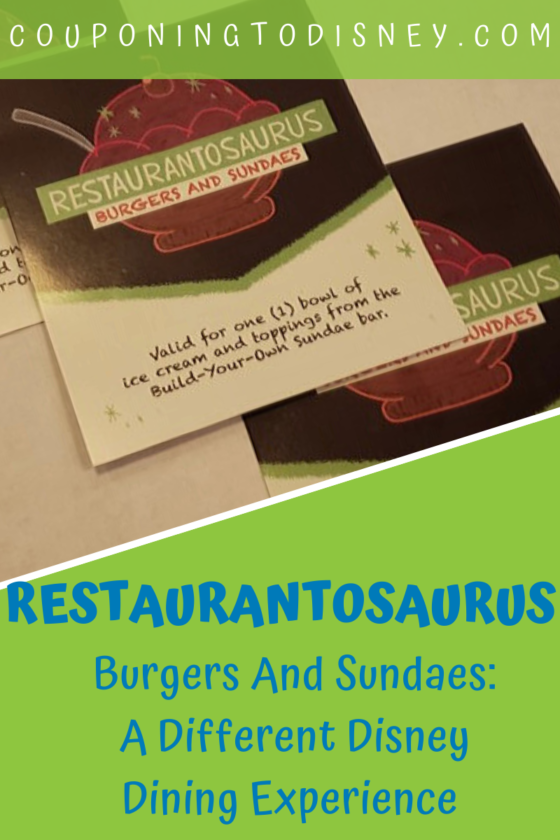 Restaurantosaurus Burgers And Sundaes