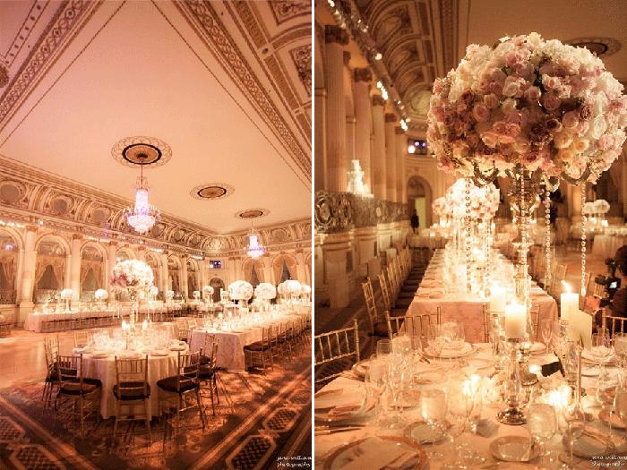Luxury Wedding Venues: Luxury Wedding // Decor // Pink And Gold // Wedding