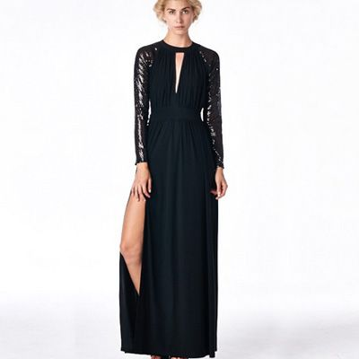 Stanton sequin gown from Sophie Simmons on The Style Club