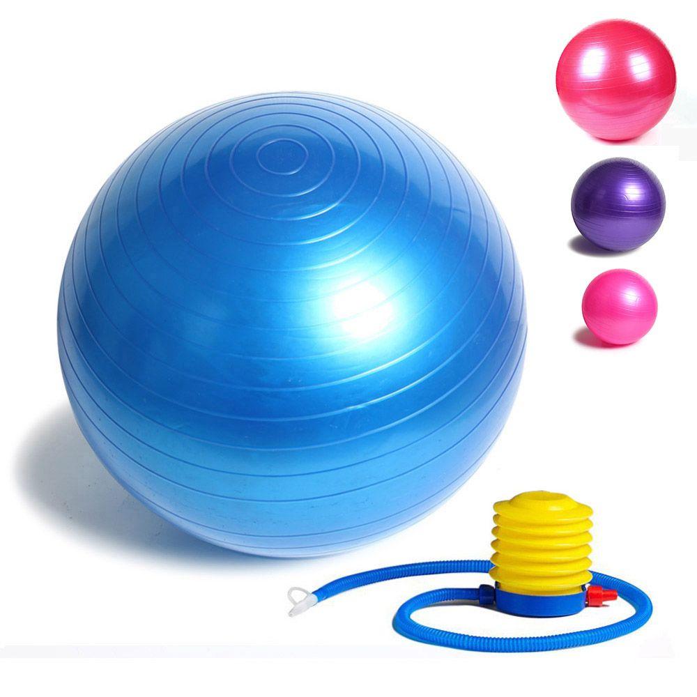 fitness yoga bal 85 cm glad balans fitness gym oefening bal met pompFitness Ballen #12