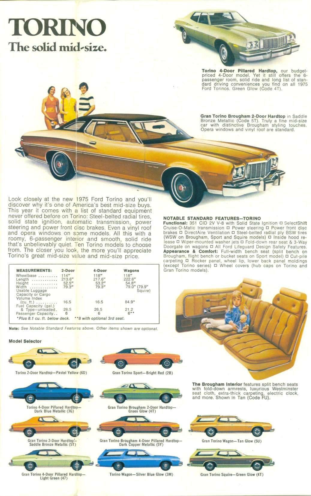Ford Gran Torino Blueprints Google Search Mobil Reklame
