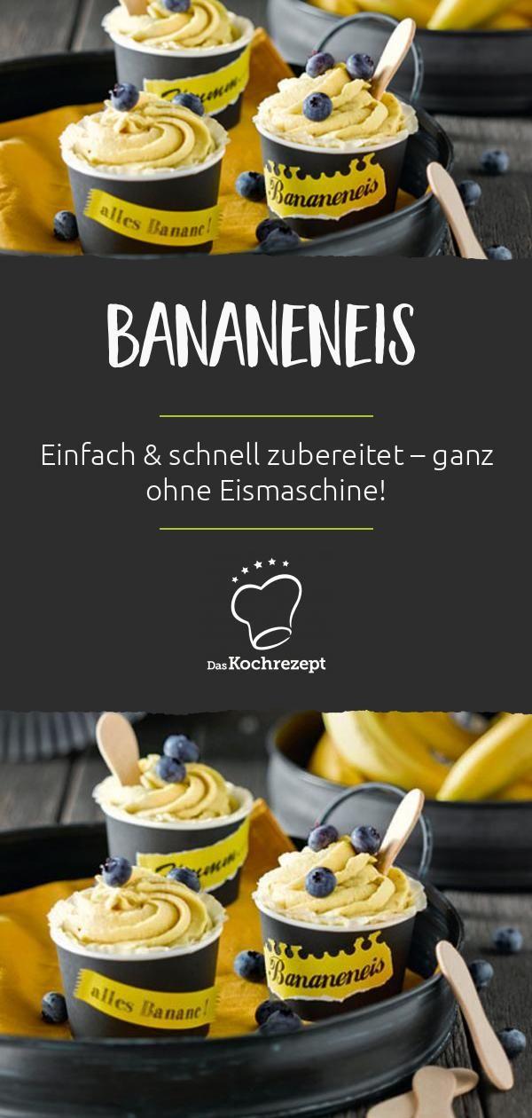 Bananeneis #einfachernachtisch
