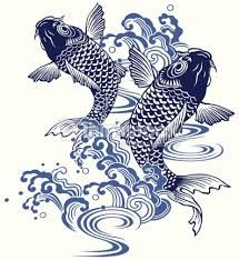 koi carp art - Google Search