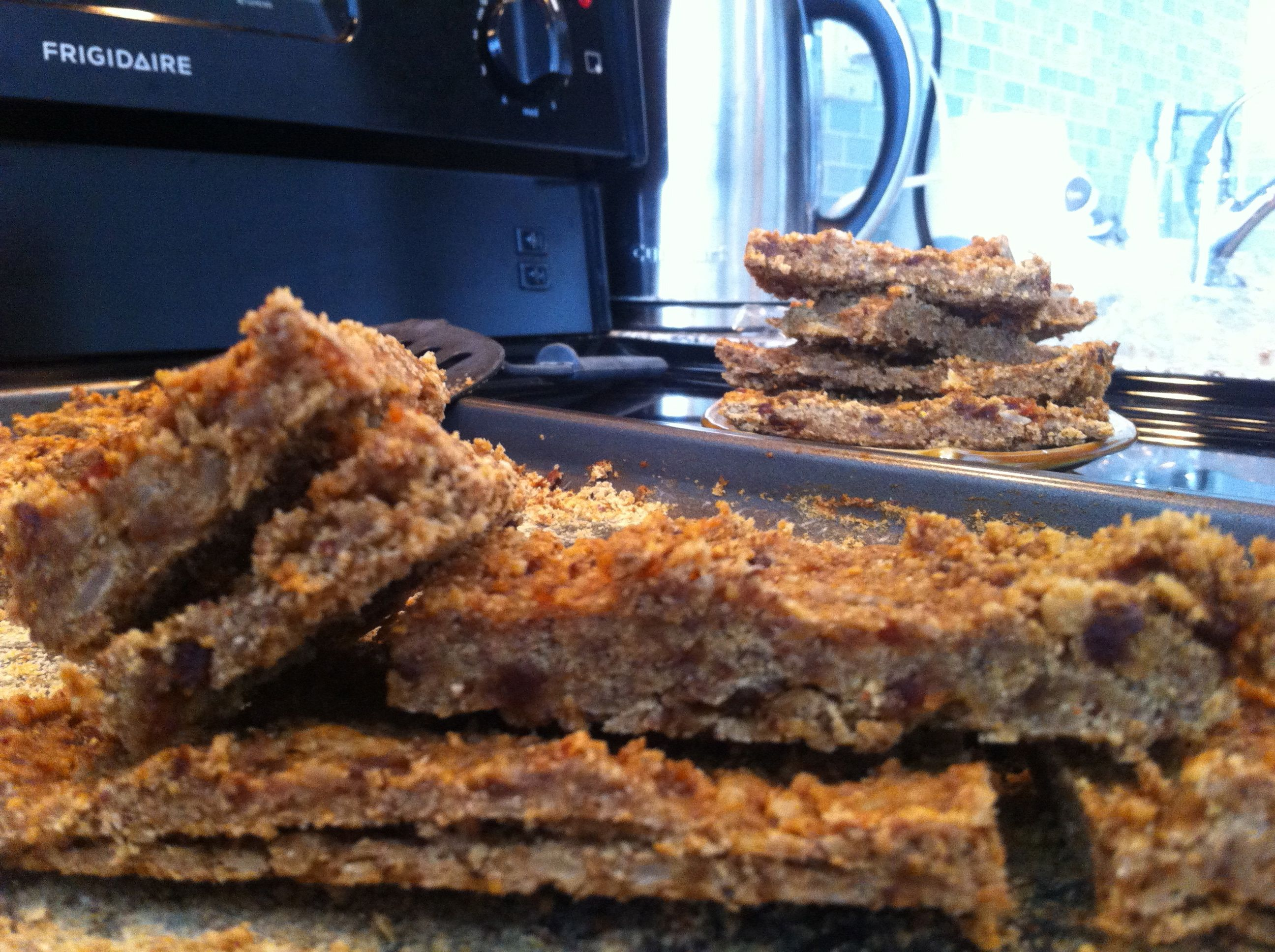 Easy protein bars no eggs or peanut butter. vegan