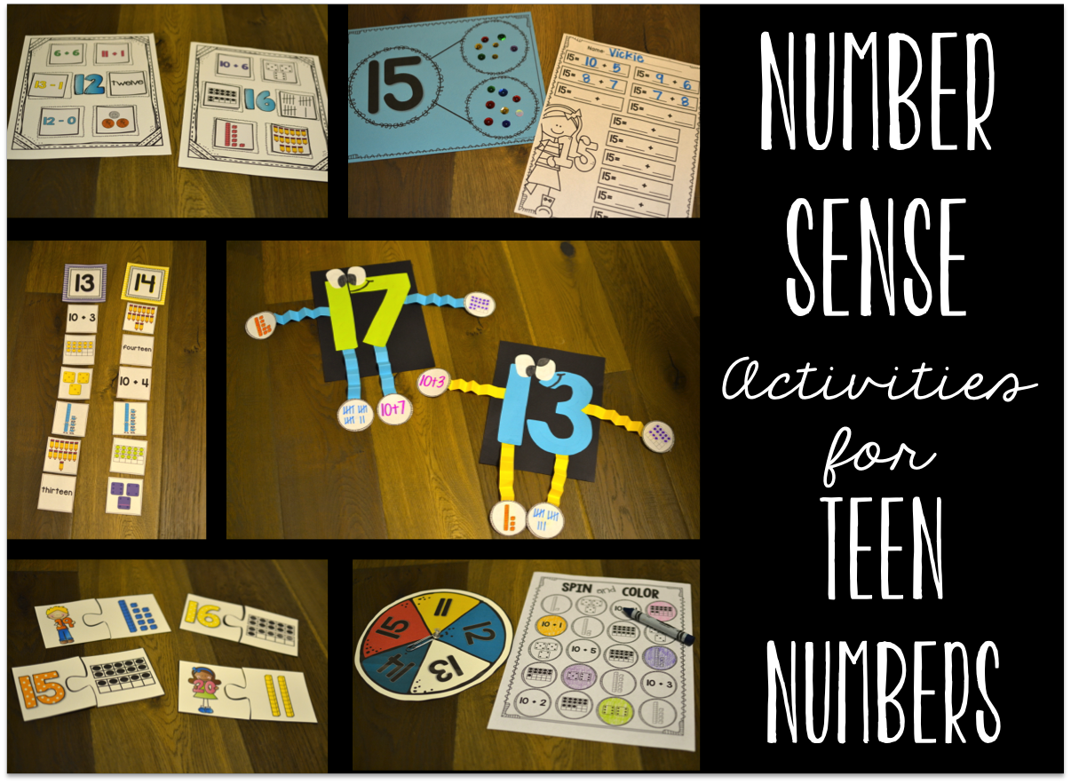 Love These Number Activities For Those Tricky Teen Numbers