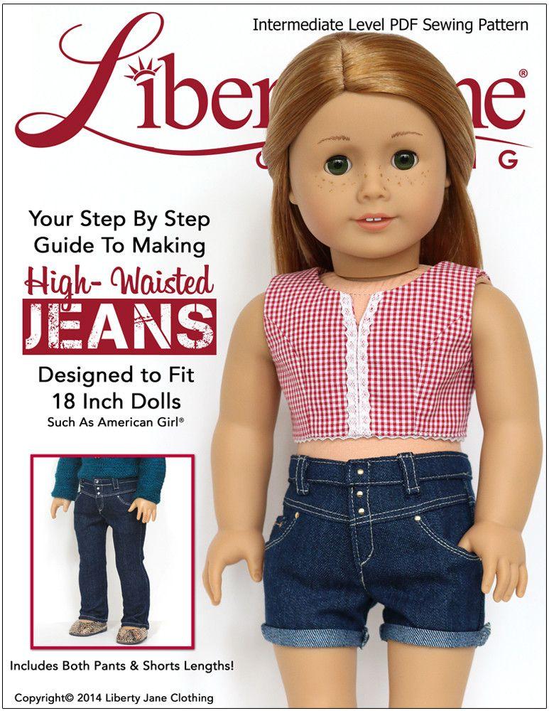 High-Waisted Jeans 18\