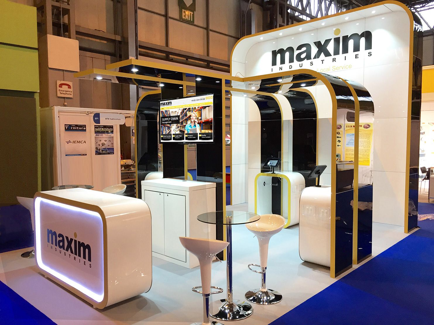 Marketing Exhibition Stand Years : Exhibition #exhibitionstand #marketing #branding #design möbius