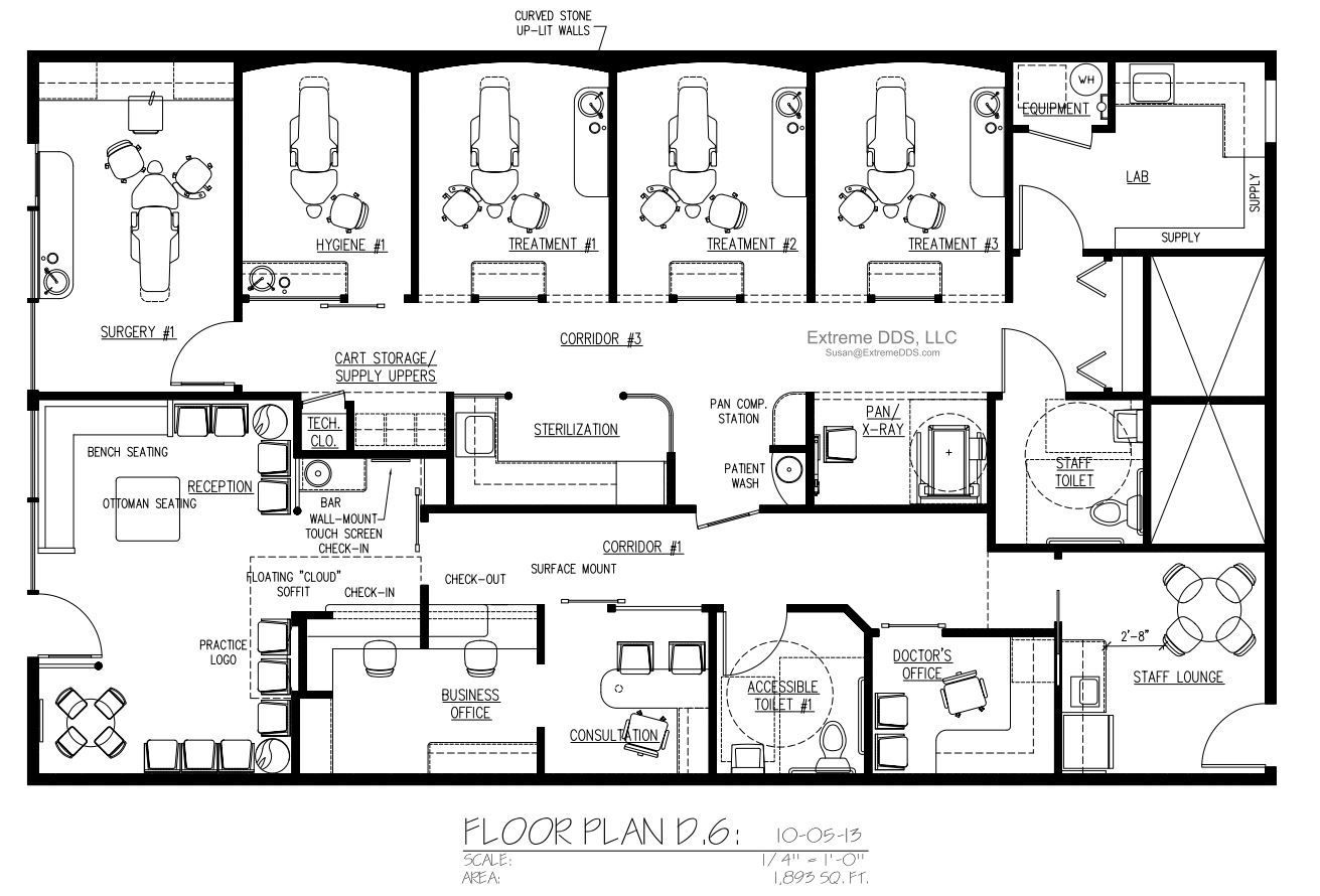 dentist office floor plan. Family And General Dentistry Floor Plans Dentist Office Plan L