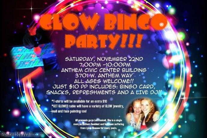 GLOW BINGO PARTY