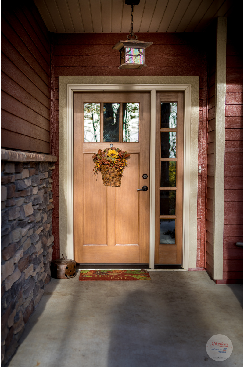 Covered Entryway To Your Craftsman Style Home Front Doors With Windows Craftsman Style Front Doors Craftsman Style Homes