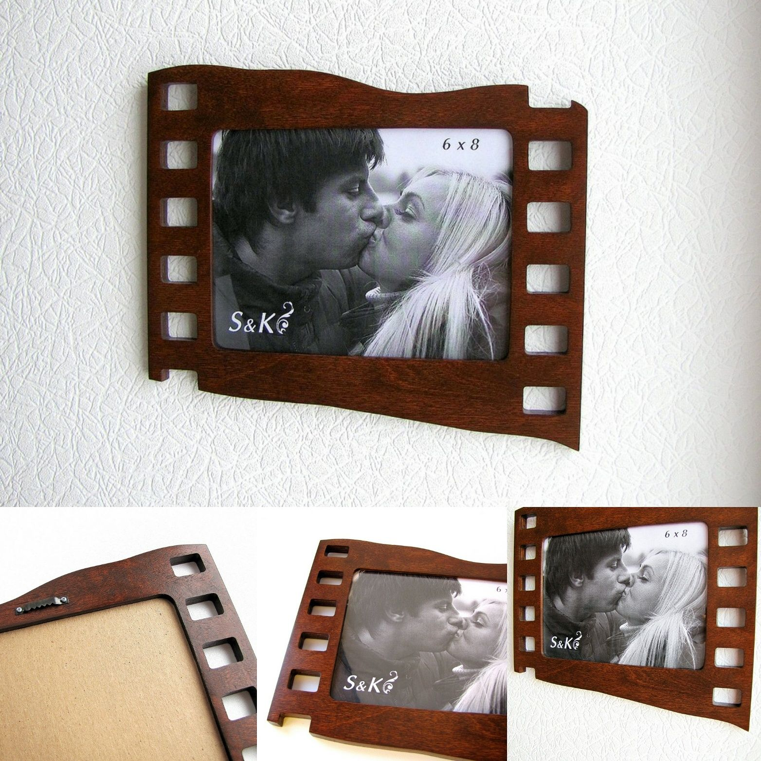 Wall frame for photo 6\