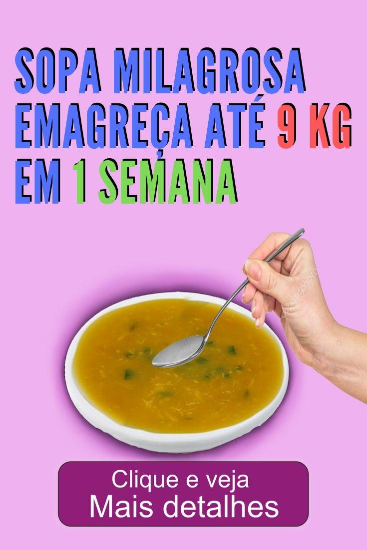 Super sopa milagrosa perca até 9 kilos em 1 semana você não vai acreditar