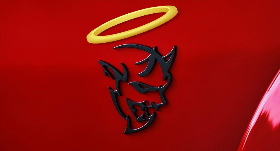Fca Patents Angel To Forgive The Dodge Demon Of Its Sins Carscoops Dodge Challenger Srt Demon Dodge Srt Demon